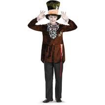 Disney Deluxe Alice in Wonderland Mad Hatter Costume Teen Sz M 38-40 - $34.99