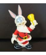 Looney Tunes Bugs Bunny dressed as Santa Christmas Ornament - $13.00