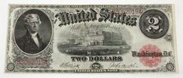 Series of 1917 $2 United States Note XF Condition Fr #58 Elliott/Burke - $247.49