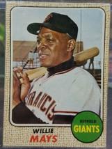 1968 Topps Willie Mays #50 Baseball Card - $78.21
