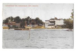 Canada Ontario Gananoque Inn Vintage 1935 Valentine Black Postcard  - $4.99