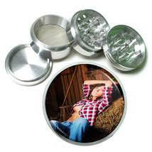 Farmers Daughter Pin Up Girls D3 63mm Aluminum Kitchen Grinder 4 Piece Herbs - $11.05