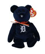 TY Beanie Baby Detroit Tigers MLB Baseball Bear Stuffed Animal NEW - $10.00