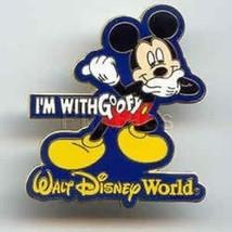 Disney Trading Pins  24330 WDW - I'm with Goofy (Mickey) - $7.25