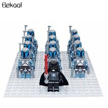 13 PCS/Set Star Wars JANGO FETT Minifigure Bricks Building Blocks Toys Kids - $21.45