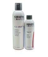 Keratin Complex Clarifying Shampoo 8 OZ & Keratin Smoothing Treatment 4 OZ Set - $89.00