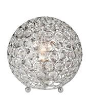 Crystal Ball Table Lamp Bedside Desk Light Modern Bedroom Living Room De... - $52.76