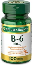 Nature's Bounty 100mg, 100 Tablets - $7.10