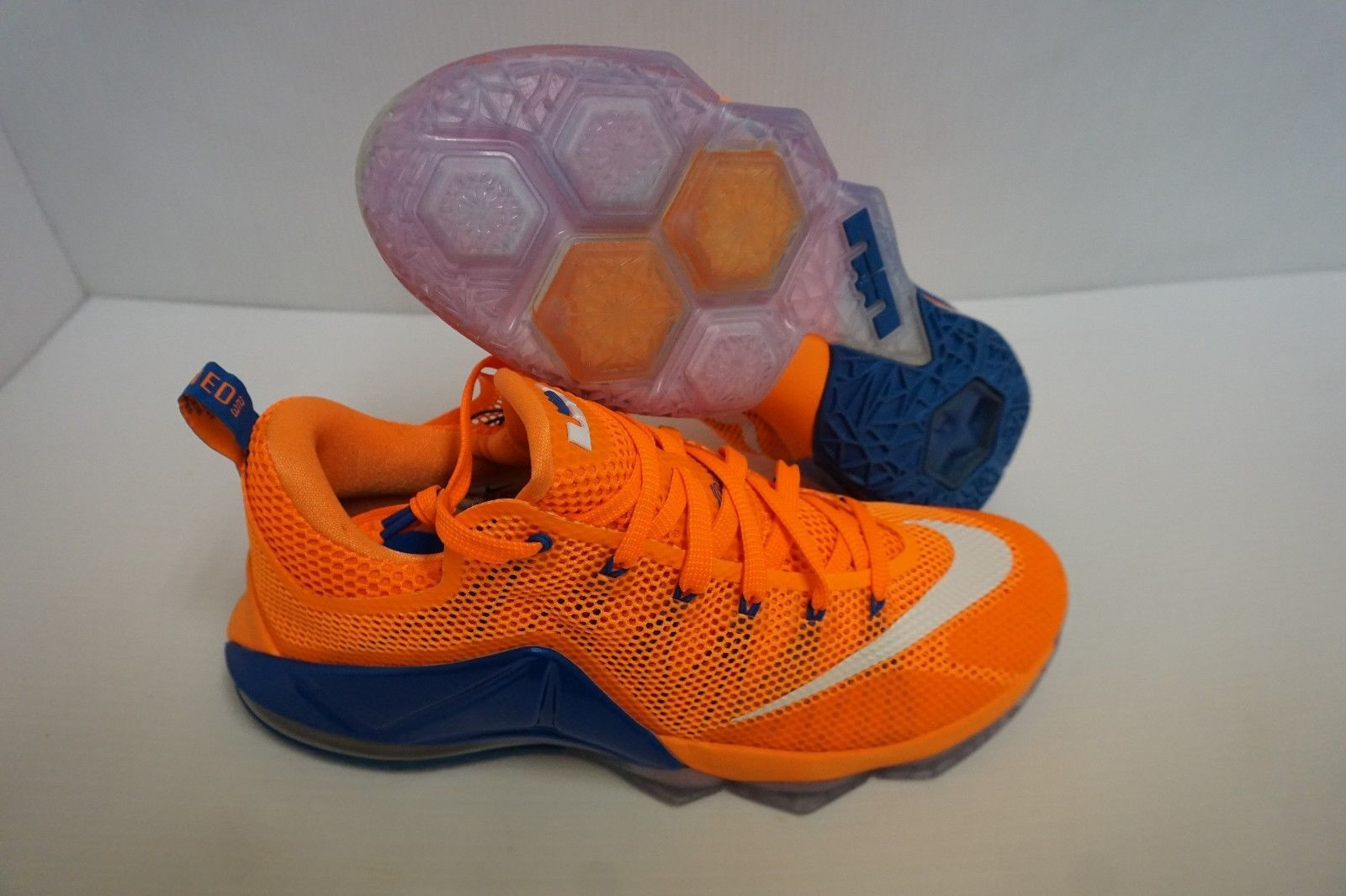 84c6800a7b98 Nike Lebron xii low basketball shoes bright and 50 similar items. 57