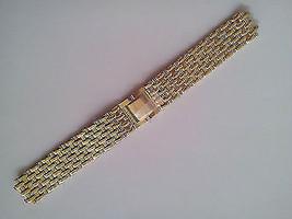 Bracelet SEIKO Stainless Steel Gold tone G1499K - $69.30