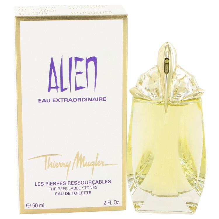 Primary image for Alien Eau Extraordinaire by Thierry Mugler Eau De Toilette Spray Refillable 2 oz