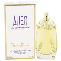 Alien Eau Extraordinaire by Thierry Mugler Eau De Toilette Spray Refillable 2 oz - $46.88