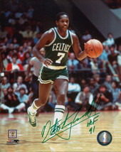 Nate Archibald signed Boston Celtics 8x10 Photo HOF 91 (green signature) - $23.95