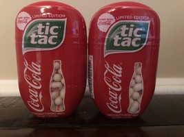 2 Coca Cola Flavored Tic Tac 3.4 oz/200 Limited Edition Best By 2/2021 - $19.06
