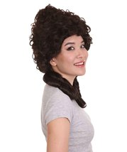 Womens 18th Century Colonial Lady Wig | Dark Brown Historical Wigs - $29.85