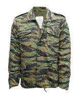 M65 US FIELD JACKET QUILTED LINER VINTAGE MILITARY ARMY COMBAT COAT CAMO... - $53.00