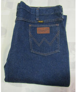 Wrangler 40 X 32 Mens Blue Denim Jeans Vintage Made In USA 945PW0 38 X 3... - $49.99