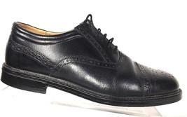 Clarks Men's Oxfords Black Brogue Captoe Casual Dress Shoes Size 8.5 M F... - $36.27