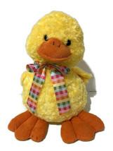 "Animal Adventure Duck Plush 15"" Yellow Smiling Face Big Beak Feet Easter... - $29.92"