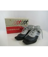Heierling Cross Country Ski Boots Vintage Italy Gray Size 37 w/ Box Skyw... - $19.24