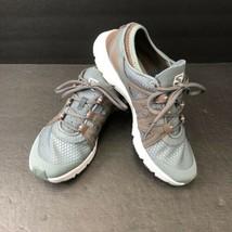 Salomon Contagrip Womens Running Shoes 187982 Size 6 Teal Walking Training Run - $29.95