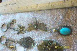 # purse jewlrey bronze color keychain backpack filigree charms lot 06 lot of 2 image 4