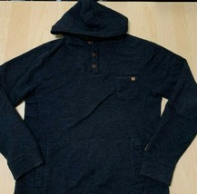 Billabong Rasta Pullover Hoodie - Charcoal Size S Small - $34.42