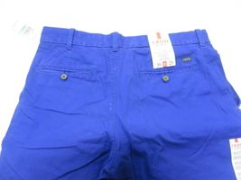NOS w/ TAGS IZOD Saltwater Mazarine Blue Men's Straight Fit Pants Size W34 L29 image 5