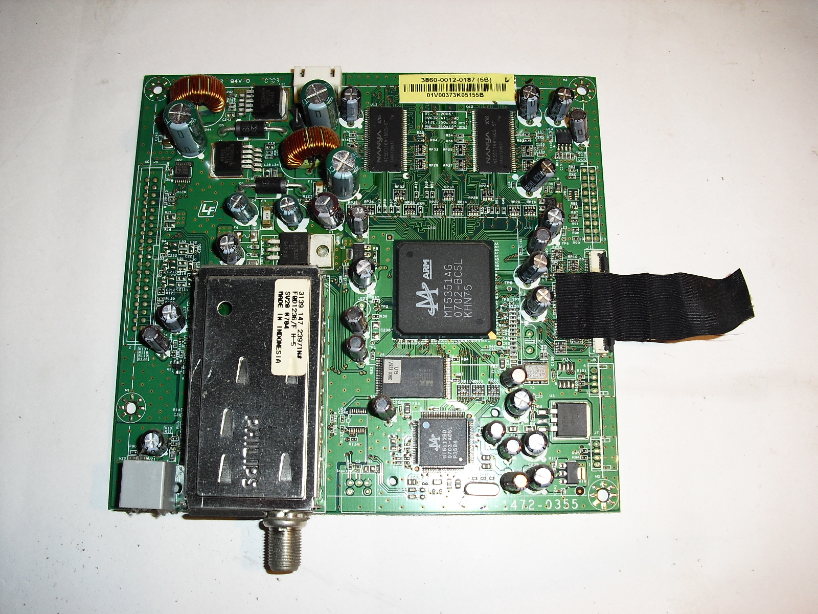 Primary image for 3860-0012-0187  tuner  board  for  vizio  vm60p
