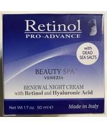 Retinol Pro-Advance Renewal NIGHT Cream Retinol Hyaluronic Acid 1.7oz  I... - $18.69