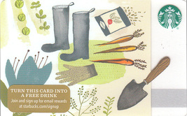 Starbucks 2015 Gardening Collectible Gift Card New No Value - $3.99