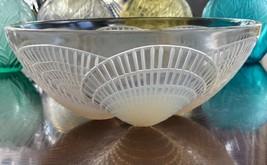 """8.25"""" René Lalique Opalescent Coquilles Bowl Signed R Lalique #3201 Rene - $691.02"""