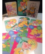 Vintage Sunshine Card Lot 14 Die Cut Birthday Cards In Box  - $13.86