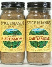 2 Ct Spice Islands 2 Oz Ground Cardamom Enhances A Variety Of Diverse Cu... - $21.99