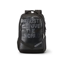 American Tourister X-Jock 26.5 Ltrs Black Laptop Backpack (Fi7 (0) 09 001) - $62.99