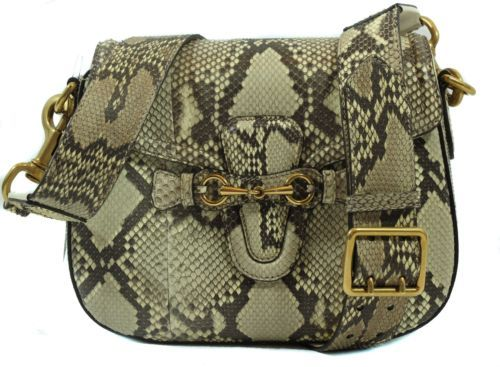 8c9479f81e5 NWT GUCCI 380573 Lady Web Python Horsebit and 48 similar items