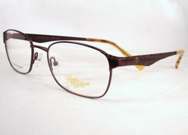 Apple Bottoms 754 Brown 1 Eyeglasses Metal 52-18-135 Frames New - $59.39