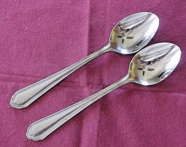 Towle Supreme Cutlery Magic Flute 2 Teaspoons Stainless Japan Flatware VGC - $15.84
