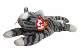 "TY BEANIE BABY PRANCE The Striped Cat Plush 7"" 11/20/97 W/ Original Tag ... - $12.82"
