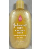 Johnson's Baby Moisture Wash Shea & Cocoa Butter 15 oz B5 - $19.75