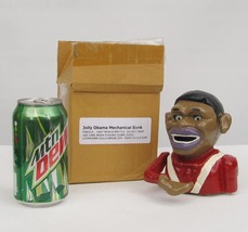 Cast Iron Jolly Obama Bank vintage 2012 political memorabilia with origi... - $100.00