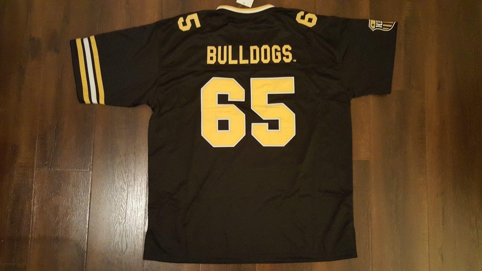 Bowie State University Football Jersey BSU short sleeve football jersey HBCU