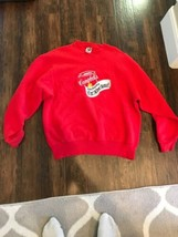 Campbells Soup Vintage Can Sweatshirt Sweater Size XL MADE IN THE USA! - $29.69