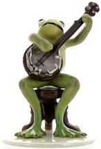 Hagen-Renaker Specialties Froggie Mountain Breakdown Bluegrass Frog Banjo   image 6
