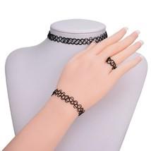 1 Set Of Adjustable Fashion Retro Elastic Tattoo Necklace Necklace Brace... - $10.29