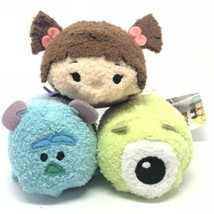 Disney Tsum Boo en Pyjama Mike & Sulley Peluche Monstres Inc. Mini 3 1.3cm - $54.82