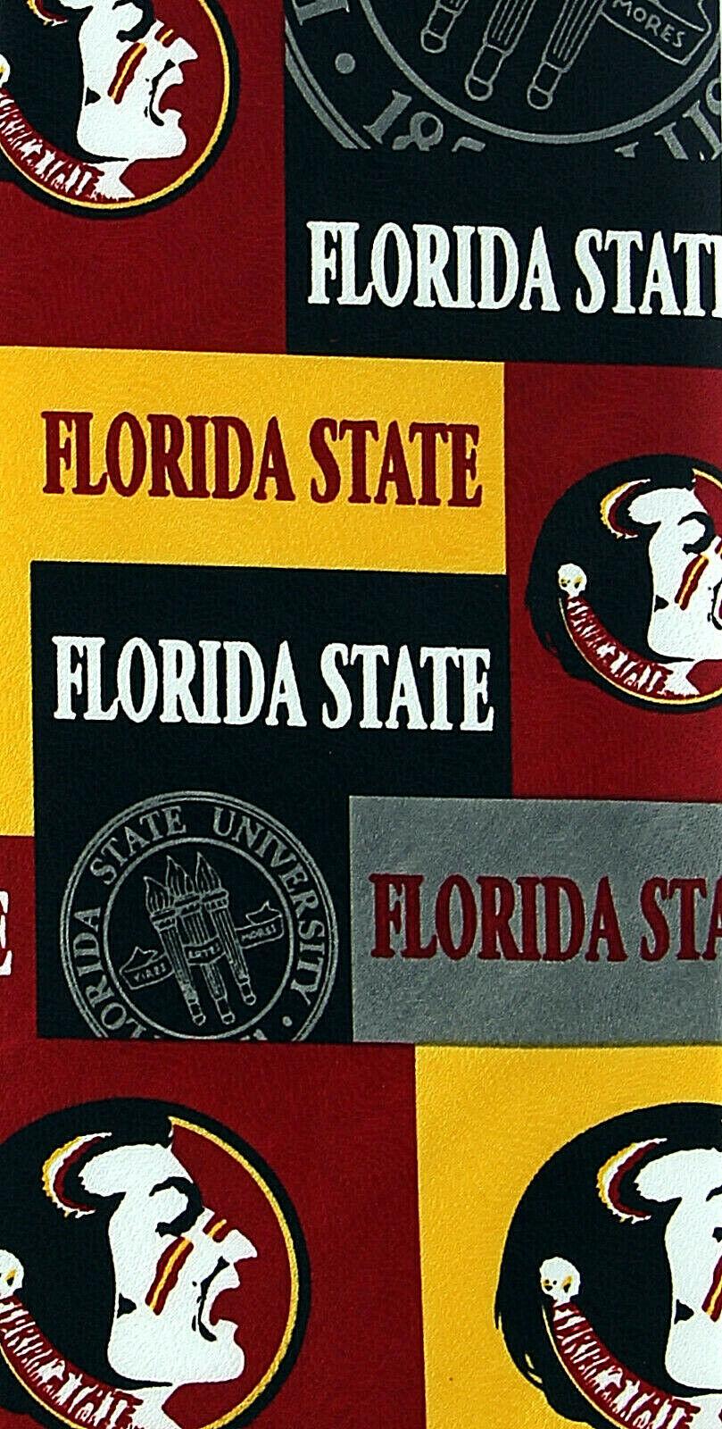 Florida State Seminoles Men's Licensed Necktie College University Red Neck Tie  image 2