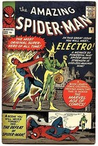 AMAZING SPIDER-MAN #9-UK EDITION-1964-FIRST ELECTRO- HIGH GRADE! - $1,134.90