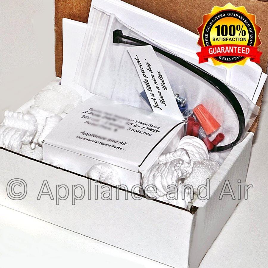 Whitfield Pellet Stove Air Pressure Switch Vacuum sensor 12145903 + Instructions