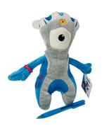 """New Mandeville Paralympic Mascot London 2012 Plush Stuffed Animal 9"""" Blu... - $12.00"""